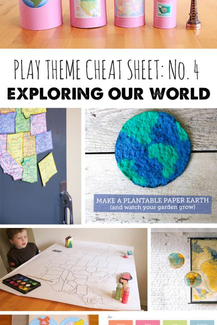 Play Theme Cheat Sheet #4: Exploring Our World