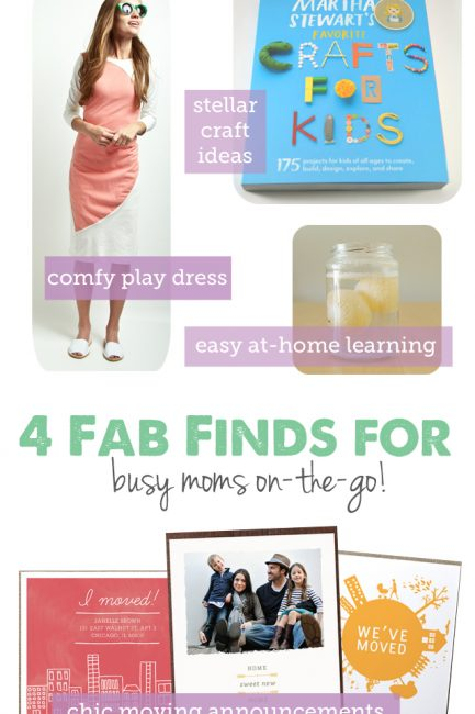Friday Fresh Finds: On-the-Go Moms