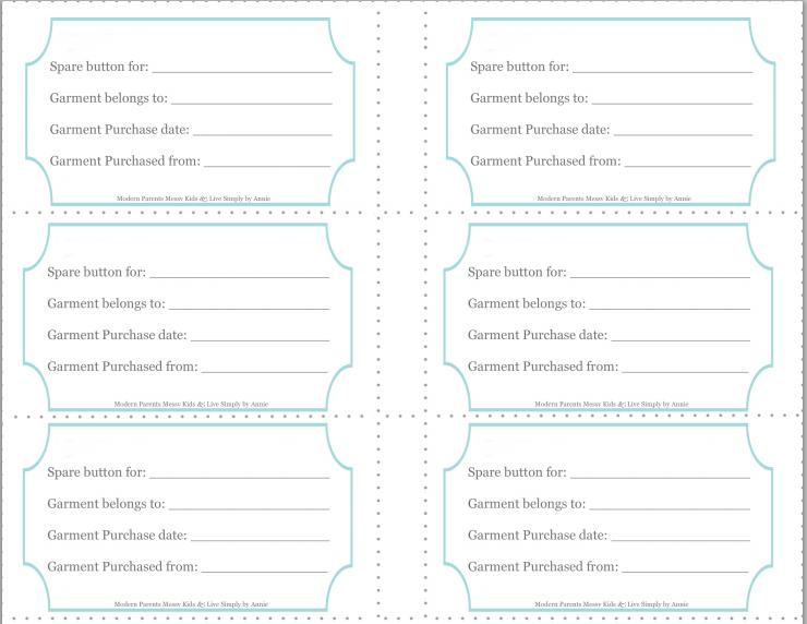 Free sewing kit organization printable