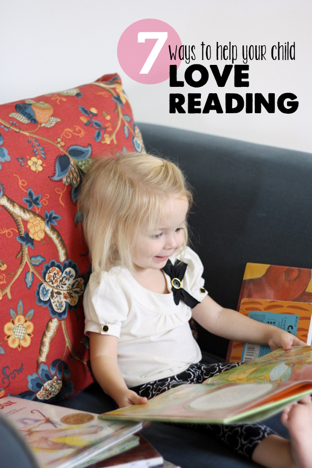 Great tips from a children's librarian on how to foster a love of reading in you kids.  Pin now, reference often.