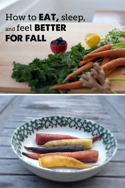 How to Eat and Feel Better This Fall