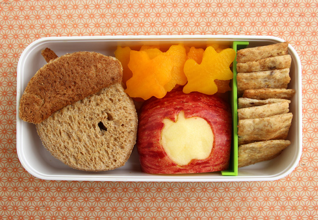 Autumn bento box