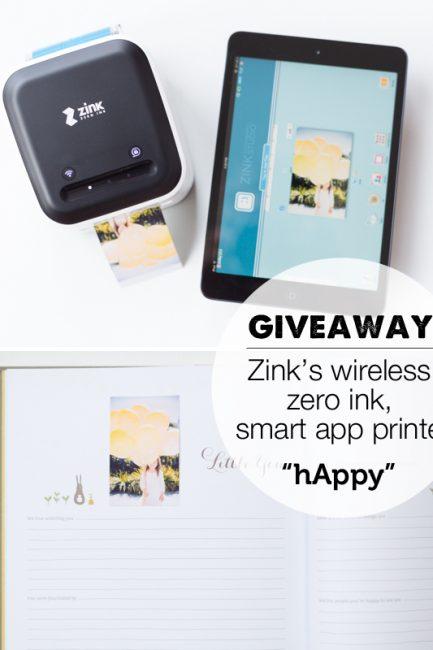Giveaway: hAppy Wireless Smart App Printers worth $500!