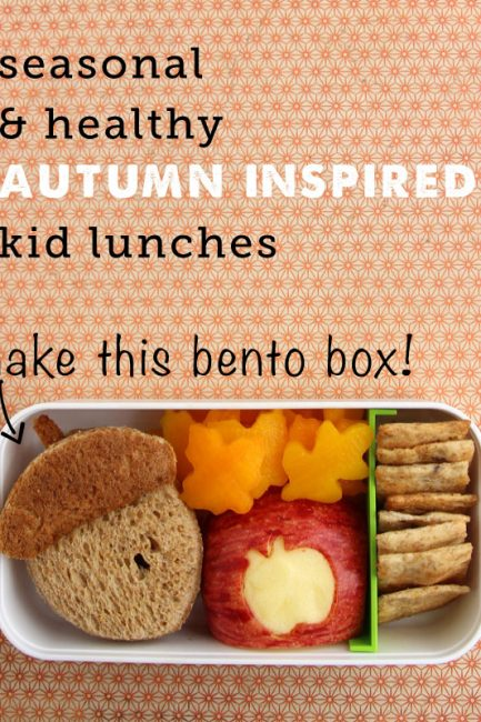 Autumn Bento Box plus More Autumn Lunch Ideas