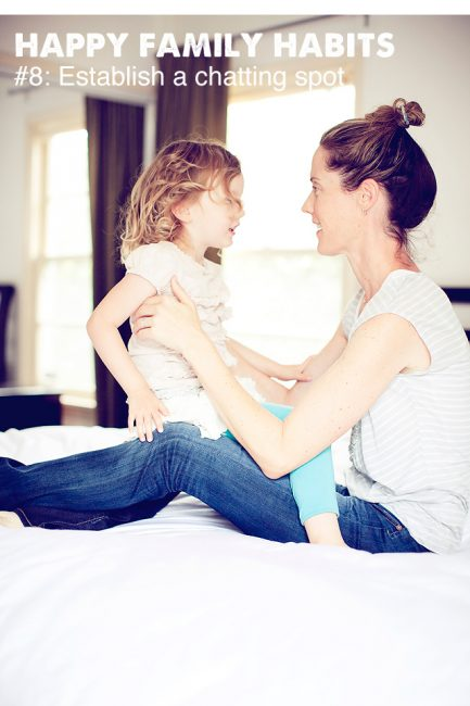 Happy Family Habit #8: Get Your Kids to Talk with a Chatting Spot