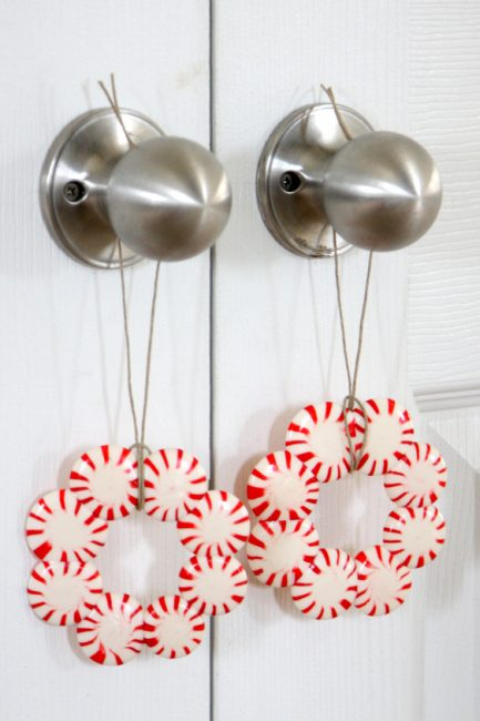 Kid Craft: Peppermint Candy Wreaths
