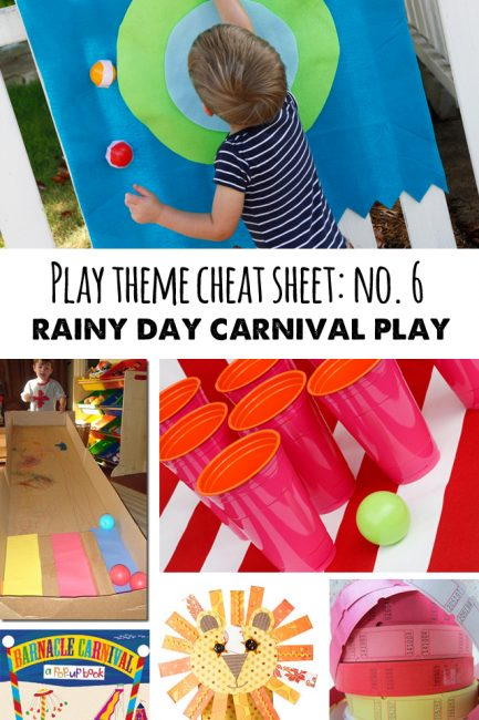 Playtime Cheat Sheet: Carnivals!