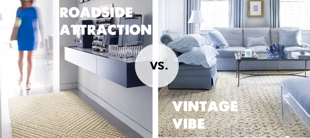 modern sisal rug options from FLOR
