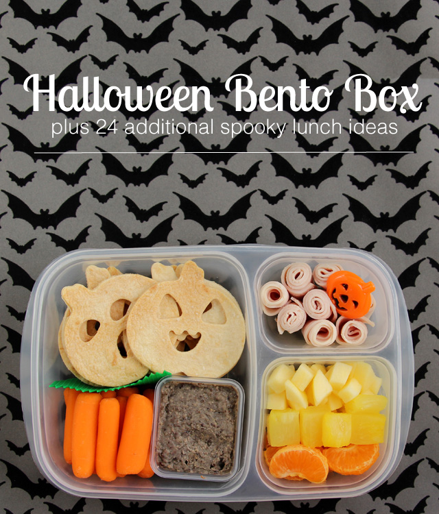 Halloween Lunch Ideas - Cute ideas for a special and healthy Halloween lunch - especially love the candy corn fruit salad.