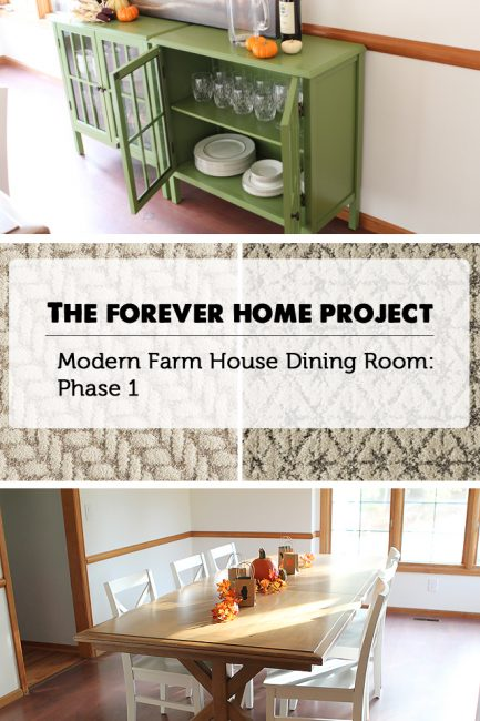 The Forever Home Project: Dining Room Update