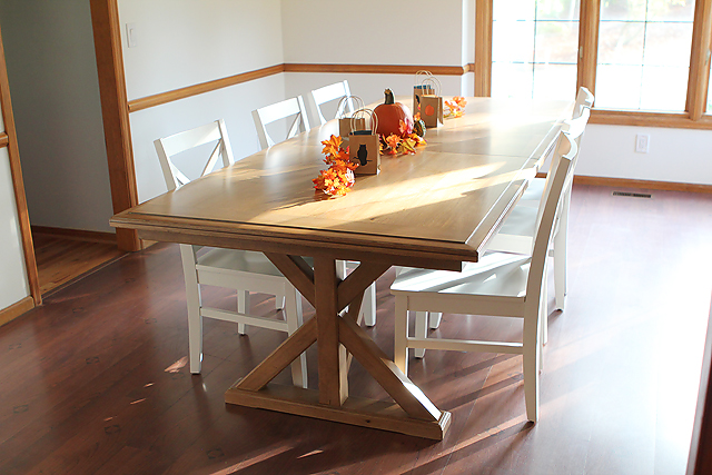 Budget finds for creating a modern farm house dining room