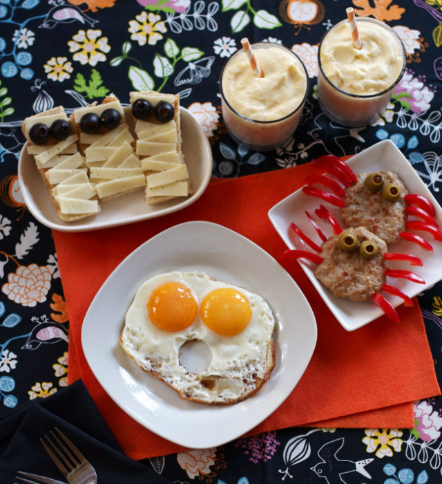Clever Halloween breakfast ideas