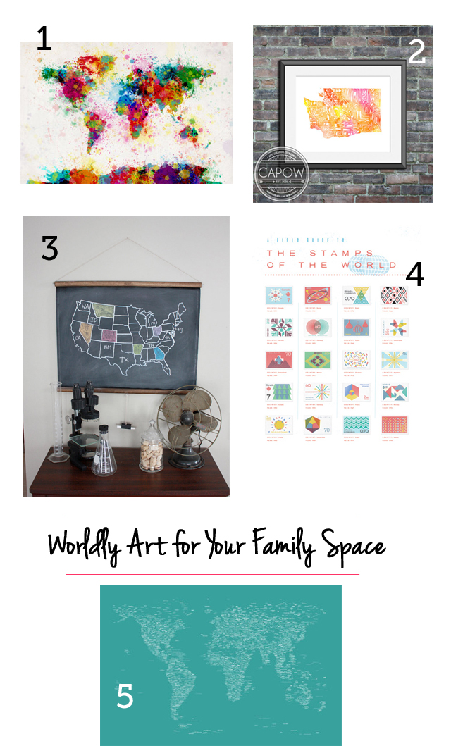 educational and stylish art for your family space