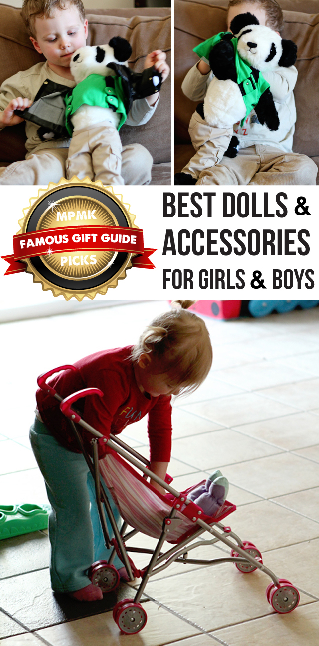 Top dolls for girls and boys - because playing with dolls builds empathy and emotional intelligence in kids.