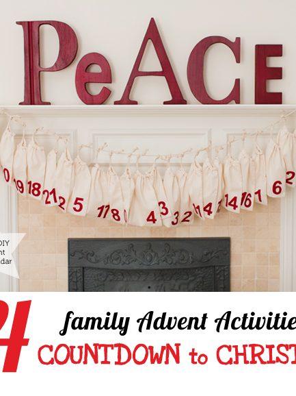 Family Advent Activity List & DIY Advent Calendar!