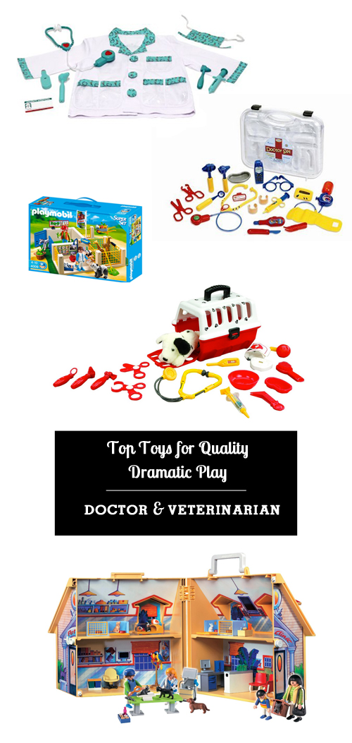 Dramatic play promotes literacy through vocabulary and story-telling practice as well as social skills such as empathy, turn taking, and the identification of emotions.