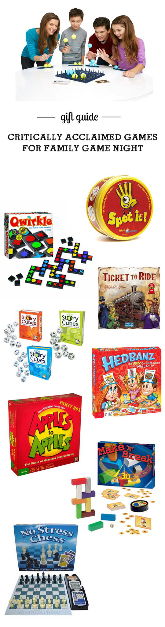 MPMK Toy Gift guide: best games kid and family game night - part of 15 super helpful toy guides with detailed descriptions and age recs.
