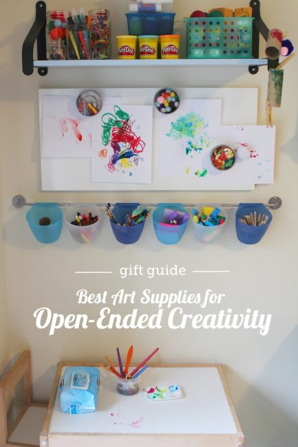 Gift Guides 2014: Best Art Supplies for Open-Ended Creativity