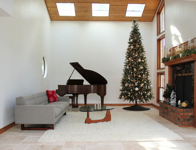 The Forever Home Project: A Modern Rustic Holiday Decor