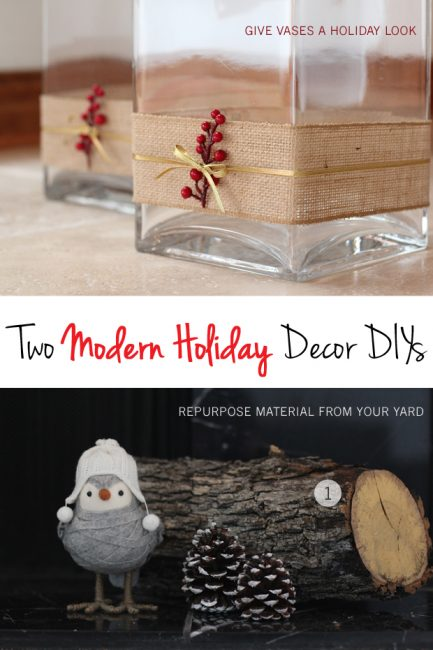 The Forever Home Project: A Rustic Holiday Mantle