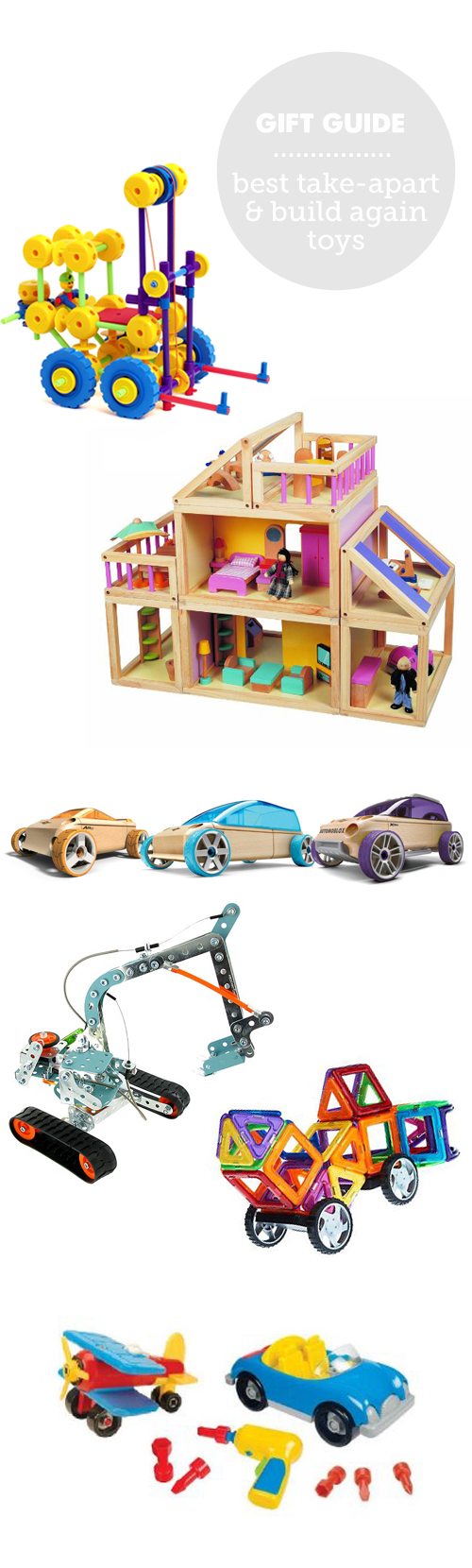 Best take-apart and build again toys for hours of independent play
