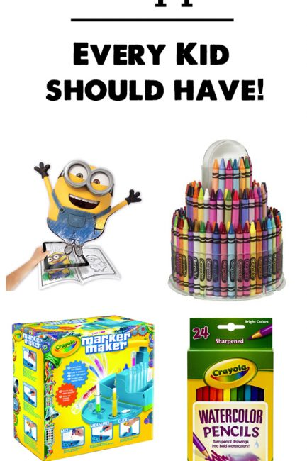 Best Art Supplies for Kids - So many cool and interesting picks here, love the age recommendations and detailed reviews.