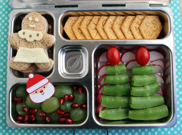 Christmas bento box