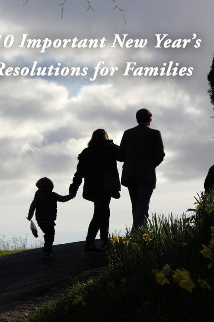 Top 10 New Year's Resolutions for Families