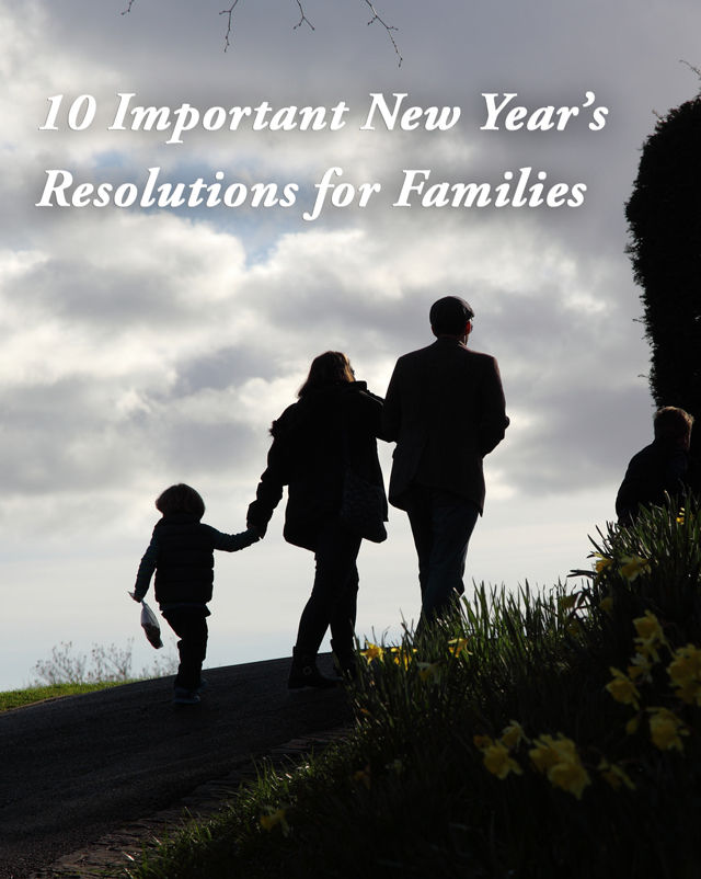 Best New Yearu0027s Resolutions For Families