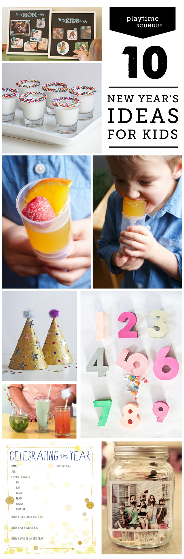 Top 10 Ways for Families to Celebrate New Year's Eve