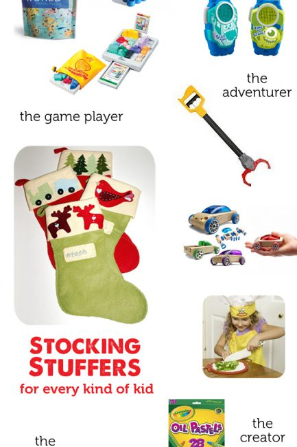 Gift Guide 2014: Stocking Stuffers for Every Kind of Kid