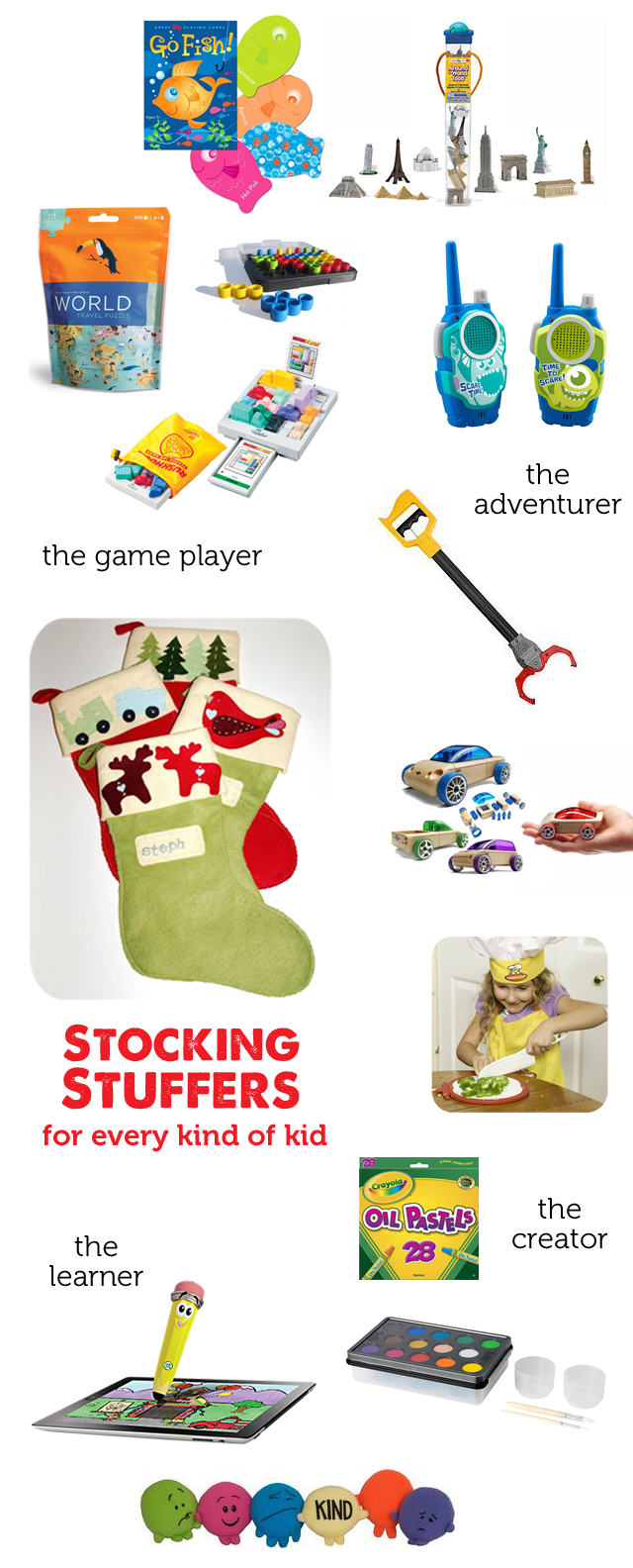 Gift Guide 2014 Stocking Stuffers For Every Kind Of Kid