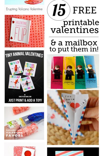 Free Valentine Printables to Bring to Class