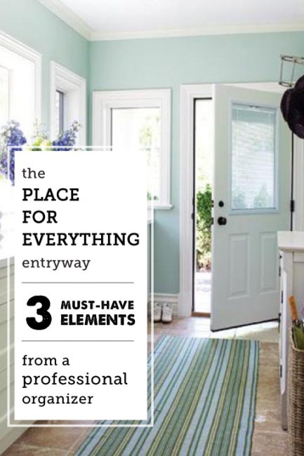Project Organize Your ENTIRE Life: Entryway Organization