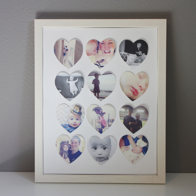 A simple DIY Instagram Valentine art project