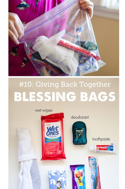 Happy Family Habit #10: Creating a Blessing Bag