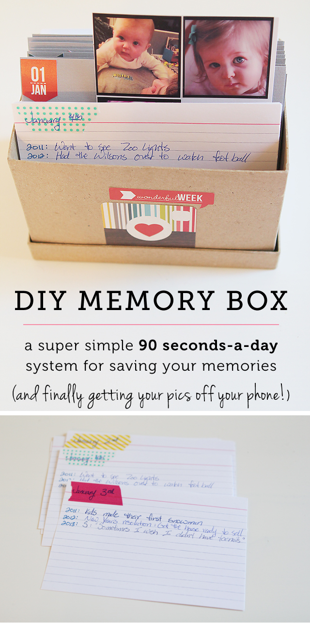 Such a great system for easily getting your memories saved for years to come - love it!
