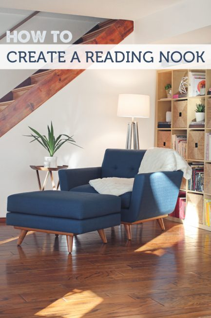 How To Create a Reading Nook (The Forever Home Project)