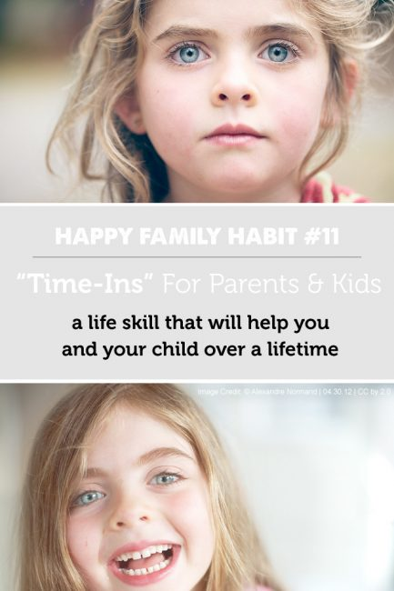 "Happy Family Habit #11: ""Time-Ins"" for the Whole Family"