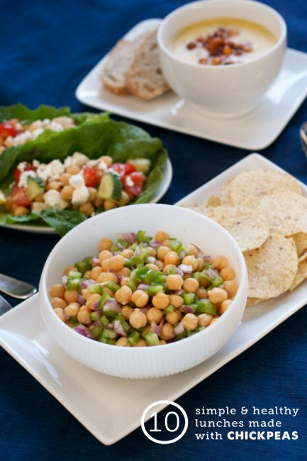 10 Easy Lunches Made with Chickpeas