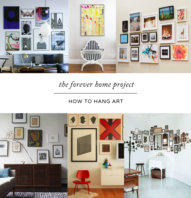 How To Arrange Art The Forever Home Project Modern