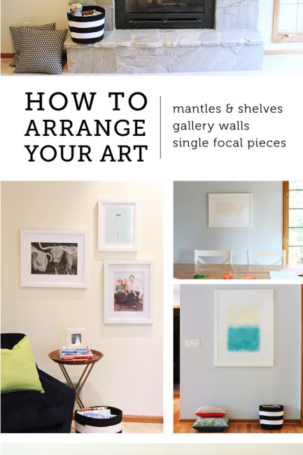 How to Arrange Art: The Forever Home Project