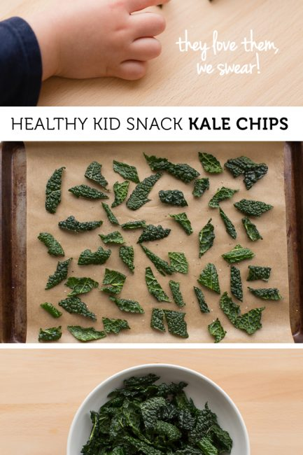 Kid Friendly Crunchy Kale Chips
