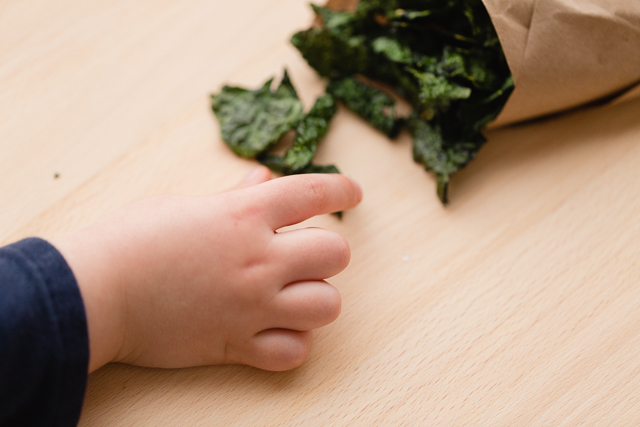 Kale Chips - My kids can't keep their hands off of them!