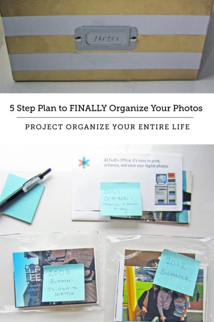 How to Organize Photos Like a Professional Organizer: POYEL