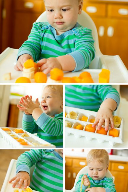 Playtime: Setting Up a Food Exploration Station for Baby