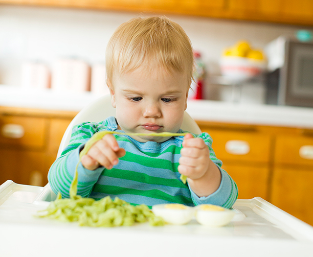 Playtime: Setting Up a Food Exploration Station for Baby - Modern Parents Messy Kids