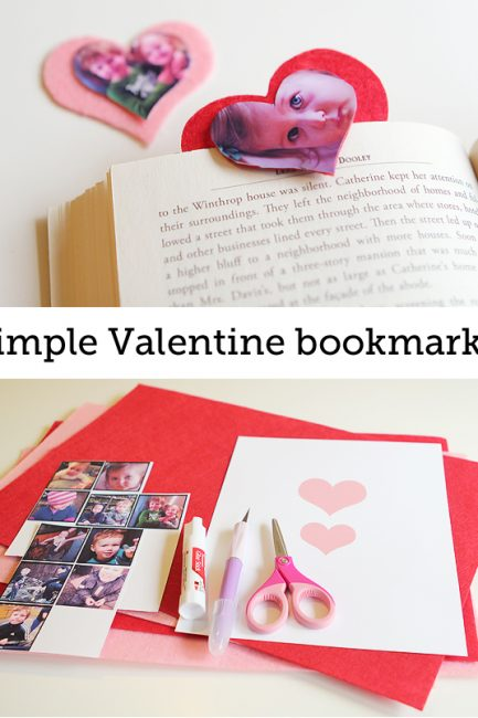 Valentine Photo Bookmarks