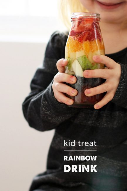 St. Patrick's Day Treat: Rainbow Drinks