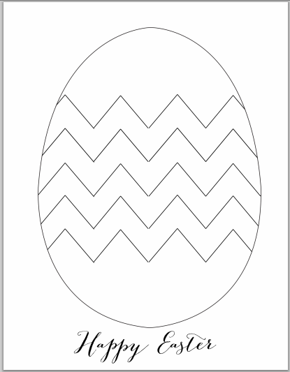 Free printables: Easter play dough mats
